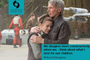 Star Wars. We disagree when...